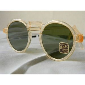 VTG Optiks Mid Century 1940's Celluloid Sunglasses
